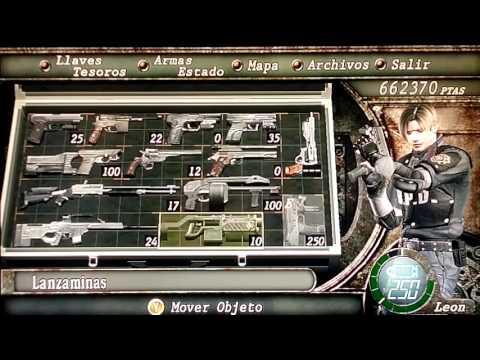 Resident Evil 4 Todas las ARMAS Trucadas al MAXIMO + el ESPECIAL