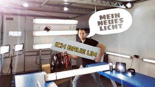 Das richtige Licht für die Fahrzeug-Aufbereitung // Umbau auf Eglo Led Panel//