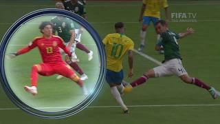 Goalkeeper Analysis - X Block Clip 4 - FIFA World Cup™ Russia 2018