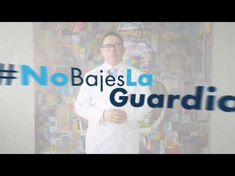 #NoBajesLaGuardia  Gel antibacterial