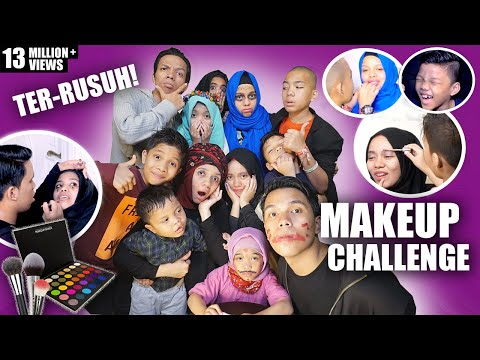 Video MAKEUP CHALLENGE TER RUSUH | Gen Halilintar