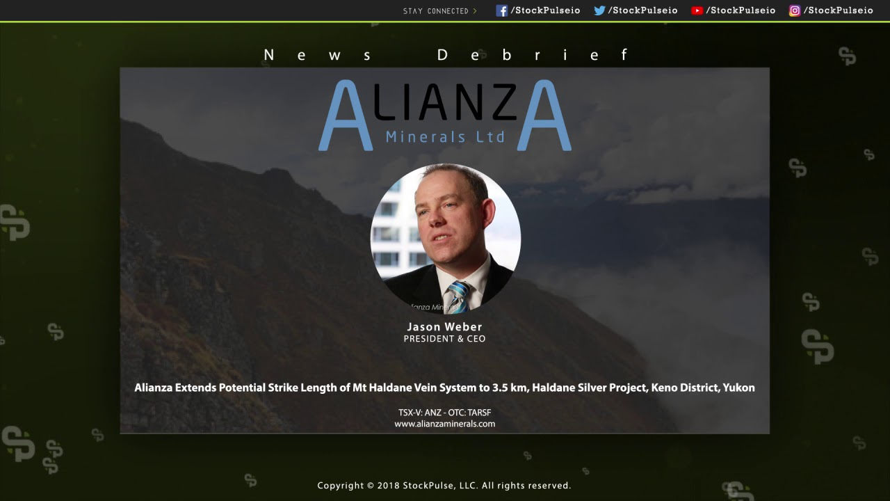Alianza Extends Potential Strike Length of Mt Haldane Vein System, Haldane Silver Project
