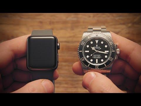 Win! Apple Watch vs Rolex Submariner | Watchfinder & Co.