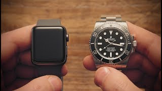 Win! Apple Watch vs Rolex Submariner | Watchfinder & Co.