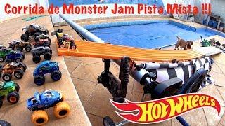 Hot Wheels Monster Jam Pista Mista Quadriculada - Carrinhos De Brinquedos #213