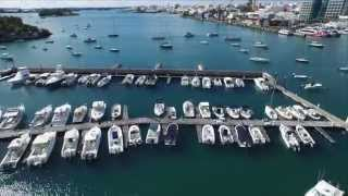 preview picture of video 'RHADC - Aerial Video - Hamilton Harbor, Bermuda'
