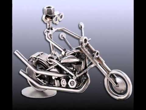 Geschenke für Motorradfahrer - Harley Schraubenmännchen