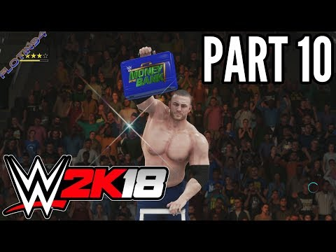 WWE 2K18 #9 | MY CAREER MODE - Money in the Bank Part 2 |