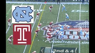 Temple vs North Carolina Football Bowl Game 12 27 2019