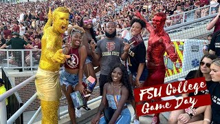 COLLEGE VLOG: FLORIDA STATE UNIVERSITY GAME DAY (BLACK LIFE AT FSU)  | Serena Bradshaw