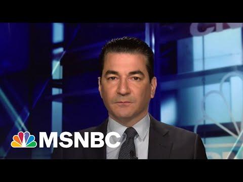 Former FDA Commissioner Dr. Scott Gottlieb Talks Return To Normal Life   Stephanie Ruhle   MSNBC