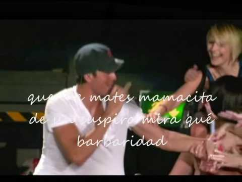 Enrique Iglesias- Mamacita+lyrics on screen(con letras)