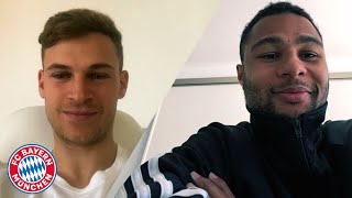 """Joshua, what do you think of Serge's style?"" 