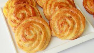 ড্যানিশ রেসিপি।।পারফেক্ট বেকারি স্টাইলের ড্যানিশ রেসিপি।।স্কুল টিফিন রেসিপি।।Danish Pastry Recipe.