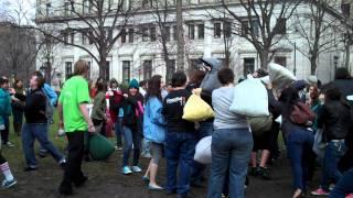 Philadelphia Pillow fight flash mob