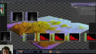 Audio Spectrum Visualizer Green Screen HD - hmong video