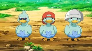 Serie Pokemon Blanco y Negro capitulo 20: Bailando con el Trío de Ducklett!
