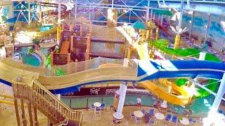 Wisconsin Dells Kalahari Indoor Water Park & Theme Park Tour
