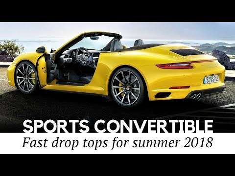 10 Sporty Convertibles And Cabriolet Cars To Buy In 2018 (Best Models Reviewed)