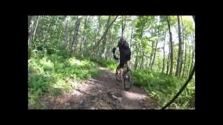 """The End of the trail """"La bobine"""" with my old Kona Cinder Cone 2005"""