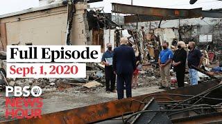 PBS NewsHour live episode, Sept. 1, 2020
