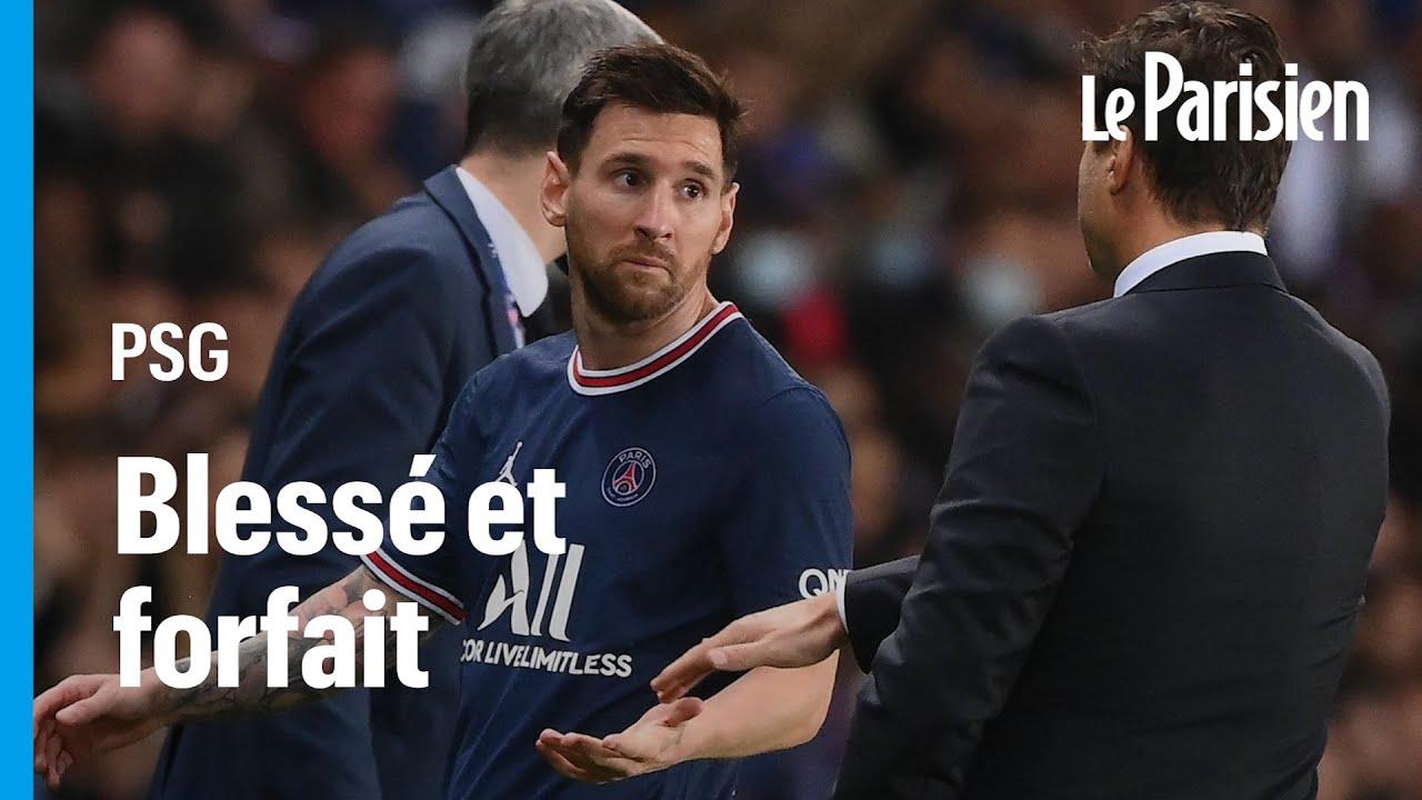 PSG: «Nous avons vu que Leo vérifiait, regardait son genou….», confie Pochettino à propos de