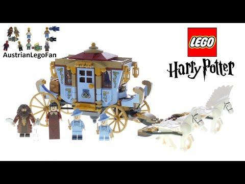 Vidéo LEGO Harry Potter 75958 : Le carrosse de Beauxbâtons : l'arrivée à Poudlard