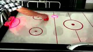 Игровой стол - аэрохоккей DFC VEGAS 6ft LED-шайба от компании Спорттовары Рыболов - видео