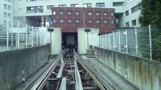 preview picture of video 'Télécabine mini-métro POMA 2000 LAON GARE HOTEL DE VILLE 6 AVRIL 2013'