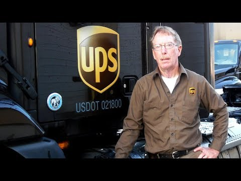 UPS Driver Saves A Mother And Her Baby After Seeing The Note Scribbled On A Package