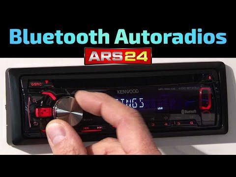 Autoradio mit Bluetooth   REVIES   KENWOOD KDC-BT43U   KDC-BT33U   ARS24.COM