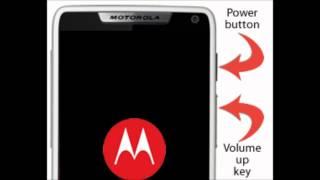 Forgot Password Motorola Droid Razr M How To Hard Reset