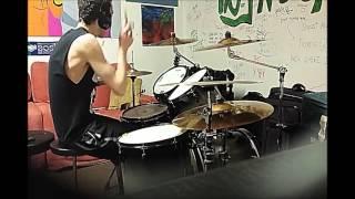 Exodus - War Is My Shepard *drum cover*