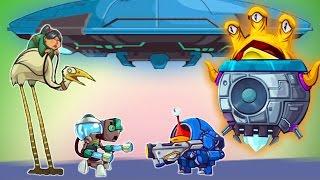 ИНОПЛАНЕТНЫЙ БОСС Tower Conquest Игра про бои и сражения на АРЕНЕ Видео для детей от Cool GAMES