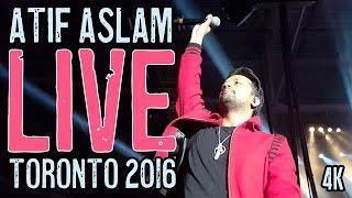 Atif Aslam - Bheegi Bheegi Yaadein (Woh Lamhe) LIVE Toronto 2016 in 4K CRAZY STAGE FRONT