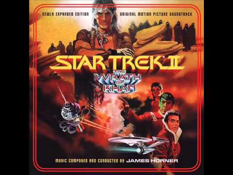 Star Trek II: The Wrath of Khan - Enterprise Clears Moorings