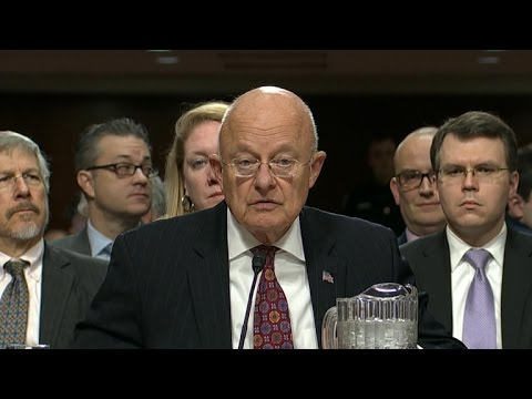 Intelligence chief rejects Trump's doubts on Russian hacking