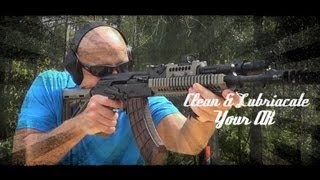 How To Clean & Lubricate The AK 47/74 Pattern Rifle HD