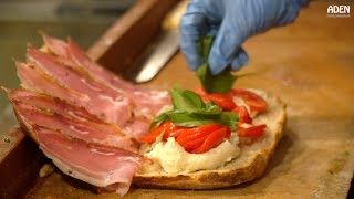 Street Food in Italy - Schiacciata in Florence