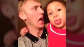 Mgk with his daughter cutest moment