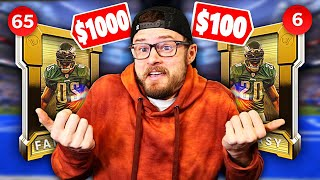 $1000 Vs $100 PACK AND PLAY - What would Happen??