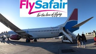 Flight Review Fly Safari Cape Town to Durban, South Africa