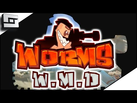 WORMS OF MASS DESTRUCTION! - WORMS WMD GAMEPLAY