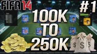 Fifa 14 Ultimate Team Next Gen Trading Series - 100k To 250k #1 The Introduction!