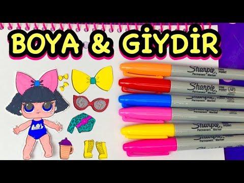 Download Lol Bebek Boyama Ve Giydirme Oyunu Lol Surprise Doll