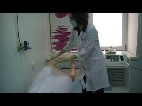 Процедура обкалывания озоном коленных суставов