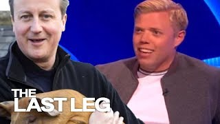 David Cameron And His Pig Make A Comeback - The Last Leg