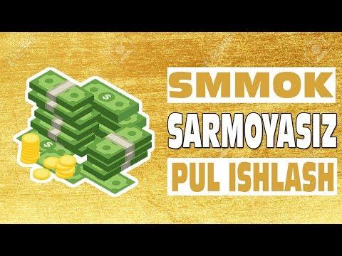 SMMOK VK ORQALI SARMOYASIZ PUL ISHLASH