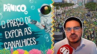 Rodrigo Constantino: 'Manifestações do voto impresso lotaram as ruas, mas mídia abaixa a cabeça'