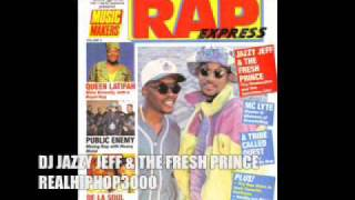 DJ Jazzy Jeff & The Fresh Prince Live On Dutch Radio